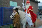 Sinterklaas en zijn pieten bezoeken de Kerst Zwartschool 1